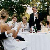 Тосты на свадьбу для новобрачных