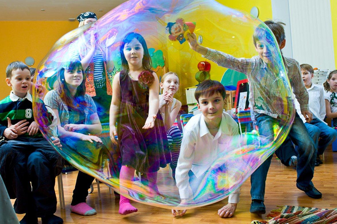 Пузыри. Шоу мыльных пузырей 1 ивент агентство Птица Днепр