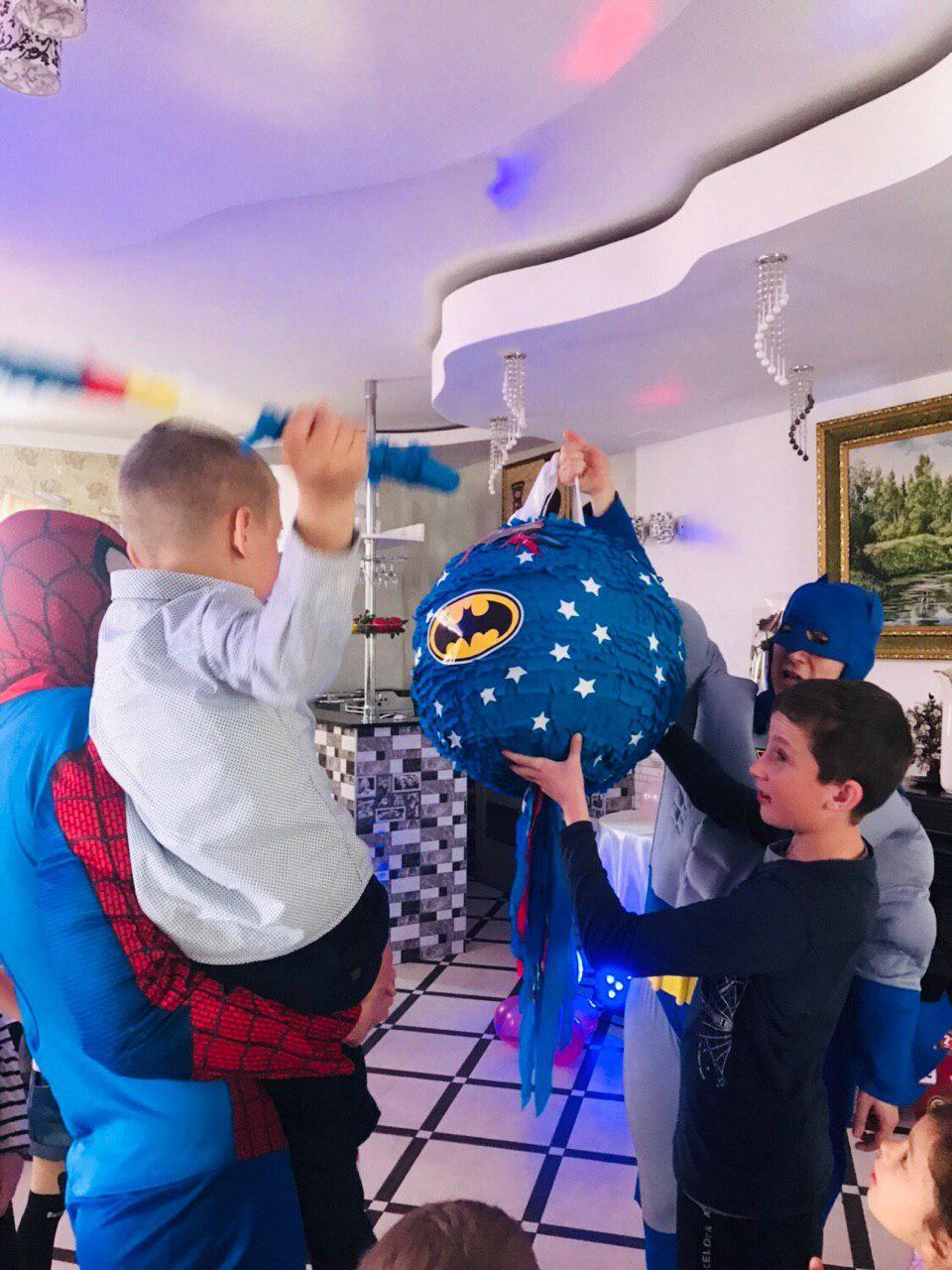 Бэтмен и Спайдермен 11 ивент агентство Птица Днепр