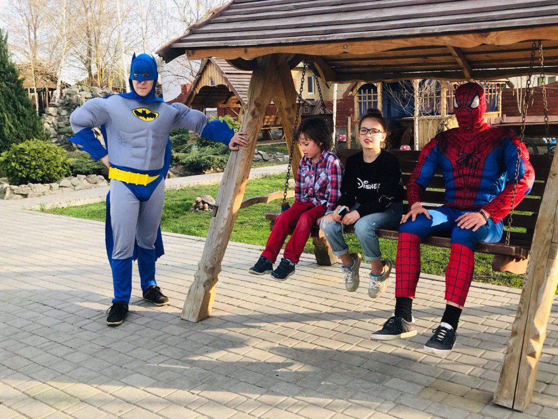 Бэтмен и Спайдермен 13 ивент агентство Птица Днепр
