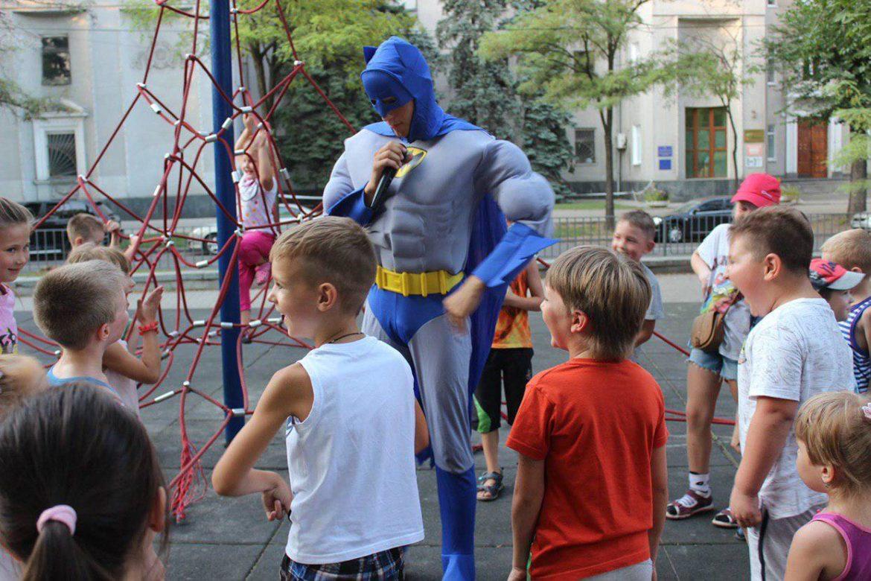 Бэтмен и Спайдермен 19 ивент агентство Птица Днепр