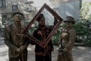 Живые статуи 7 ивент агентство Птица Днепр