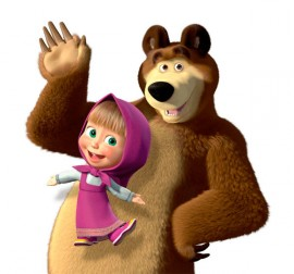Программа на детский праздник. Маша и Медведь.